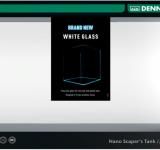 Аквариум Dennerle Nano Scaper's Tank White Glass 70 литров, из осветленного стекла