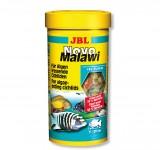 Корм JBL NovoMalawi - Основной корм для растительноядных цихлид, хлопья, 250 мл (40 г)