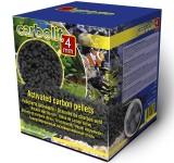 Наполнитель уголь Aqua Medic Carbolit 4мм 5л/3кг для морских и пресноводных аквариумов в коробке