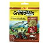 JBL NovoGranoMix mini - Осн. корм для небольших пресн. акв. рыб, гранулы, саше 15 г