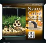 Аквариум Dennerle NANOCube Complete+ Style LED, 10 литров