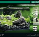 Аквариум Dennerle NANO scaper's tank Basic Style LED, 55 литров