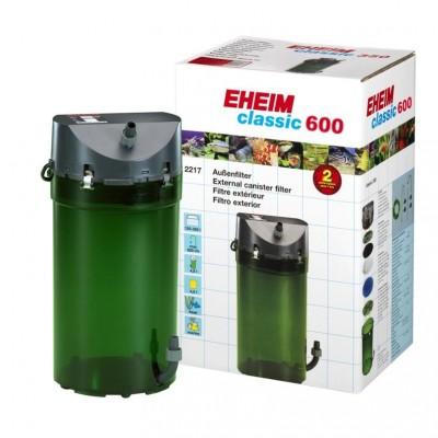 Фильтр для аквариума | Внешний фильтр для аквариумов 180л-600 л EHEIM Classic 2217 1000 л/ч)