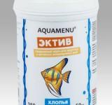 Корм Аква Меню Эктив хлопья для ежедневного кормления большинства видов аквариумных рыб, 250 мл (50г)