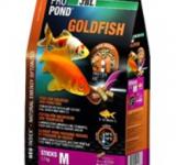 Корм JBL ProPond Goldfish M - Осн корм д/золот рыб 15-35 см, плав палочки 14 мм, 1,7 кг/12 л