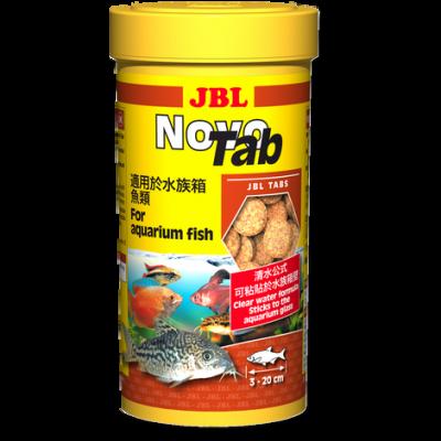 Корм JBL NovoTab таблетки для аквариумных рыб, 100 мл (160шт)