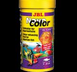 Корм JBL NovoColor хлопья для усиления окраски аквариумных рыб, 100 мл (18г)