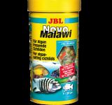Корм JBL NovoMalawi для растительноядных цихлид из озёр Малави и Танганьика, 250 мл (40г)