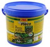 Корм JBL NovoPleco Водорослевые чипсы с древесиной для кольчужных сомов, 5.5 л