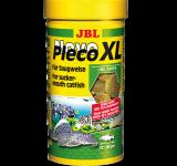Корм JBL NovoPleco XL водорослевые большие чипсы с древесиной для кольчужных сомов, 250 мл (125г)