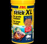 Корм JBL NovoStick XL в виде палочек для крупных цихлид, 1000 мл (400 г)