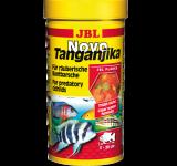 Корм JBL Novo Tanganjika хлопья для хищных цихлид, 250 мл (45 г)