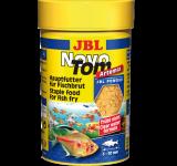 Корм JBL NovoTom Artemia пылевидный корм с артемией для мальков, 100 мл (60г)