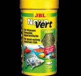 Корм JBL NovoVert хлопья для растительноядных аквариумных рыб, 250 мл (40г)