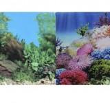Фон Prime двухсторонний Коралловый рай/Подводный пейзаж 30х60см