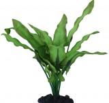Растение Prime шелковое Анубиас Хастифолия, 20см