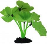 Растение Prime шелковое Нимфея, зеленое 13см