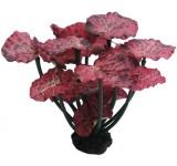 Растение Prime шелковое Нимфея, краповое 20см