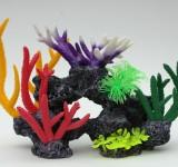 Композиция из кораллов пластиковая 40х18х25,5см