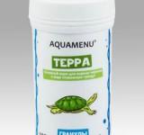 Корм Аква Меню Терра основной корм для водных черепах в виде плавающих гранул, 100 мл (22г)