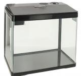 Аквариум PRIME, 15л, черный, с LED светильником, фильтром и кормушкой
