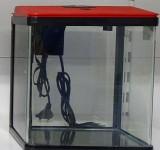 Аквариум Prime 7л, LED, красно-черный