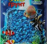 Мраморная крошка голубая (блестящая) 5-10 мм 3,5 кг
