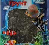 Мраморная крошка черная (блестящая) 5-10 мм 3,5 кг