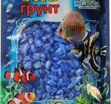 Мраморная крошка синяя (блестящая) 5-10 мм 3,5 кг