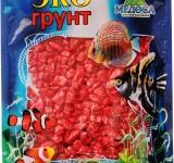Мраморная крошка красная (блестящая) 5-10 мм 3,5 кг