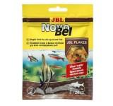 JBL NovoBel - Осн. корм для пресноводных аквариумных рыб, хлопья, саше 12 г