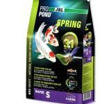 JBL ProPond Spring S - Осн весенний корм д/кои 15-35 см, плавающ чипсы 3 мм, 4,2 кг/12л