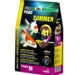 JBL ProPond Summer M - Осн летний корм д/кои 35-55 см, плавающ гранулы 6 мм, 2,0 кг/6 л