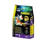 JBL ProPond Summer S - Осн летний корм д/кои 15-35 см, плавающ гранулы 3 мм, 4,1 кг/12л