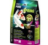 JBL ProPond Spring M - Осн весенний корм д/кои 35-55 см, плавающ чипсы 6 мм, 2,1 кг/6 л