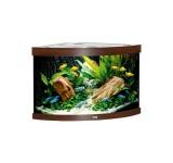 Аквариум Juwel Trigon 190 LED темное дерево