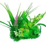 Композиция из пластиковых растений 15см PRIME M616