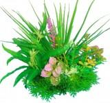 Композиция из пластиковых растений 15см PRIME M621