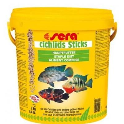 Корм для рыб CICHLIDs Sticks 10 л (2 кг) (ведро)