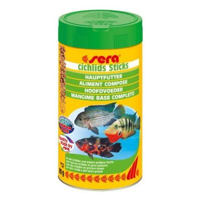 Корм для рыб CICHLIDs Sticks 500 мл (90 г)