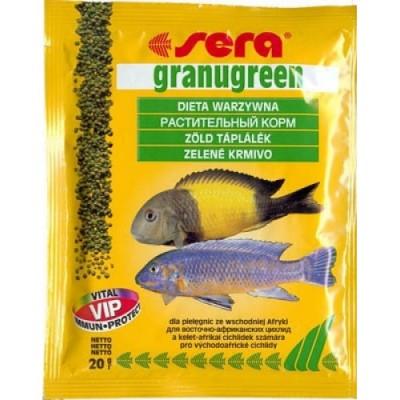 Корм для рыб GRANUGREEN 20 г (пакетик)