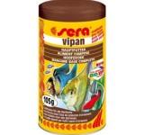 Корм для всех видов декоративных рыб VIPAN 1000 мл (105 г) (крупные хлопья) , шт