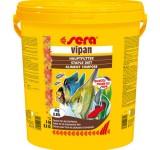 Корм для всех видов декоративных рыб VIPAN 21.000 мл (4 кг) (крупные хлопья, ведро) , шт