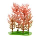 Перистолистник красный (Red Foxtail) 10 см, растение пластиковое TetraPlantastics®