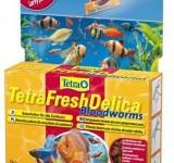 Корм для рыб Tetra FreshDelica Bloodworms (желе красного червя) 48 г