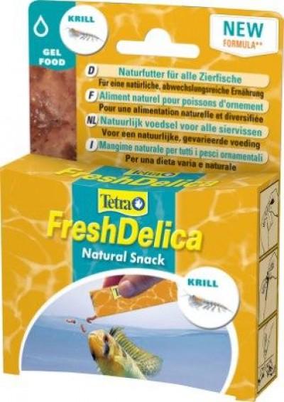 Корм для рыб Tetra FreshDelica Krill (желе креветки) 48 г