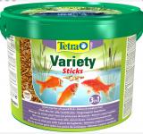Корм для черепах Tetra ReptoMin (палочки) 10 л