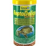 Корм для черепах Tetra ReptoDelica Shrimps 1л
