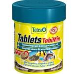 Корм для рыб TetraTablets TabiMin (таблетки) 120 таб., 66 мл.