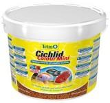 Корм для рыб TetraCichlid Colour Mini 10 л гранулы